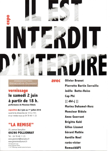 invitation expo juin 2018